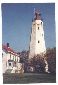 LIGHTHOUSE , Sandy Hook , New Jersey , , 50-70s