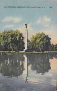 New Jersey Montclair War Memorial In Edgemont Park