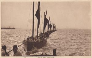 On the River , Navy ; H.M.S. GANGES , Uk , 1910s ; TUCK