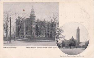 New York Buffalo State Normal School The Cirele First Presbyterian Church