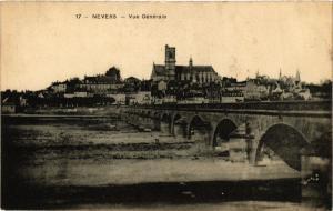 CPA   Nevers - Vue Générale   (355621)