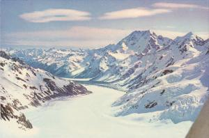 New Zealand Tasman Glacier Mount Cook