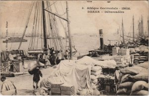 CPA AK SENEGAL DAKAR - Débarcadére (46719)