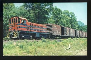 Mauritius Jensen No 14 Train Postcard, Morristown & Erie RR/Railroad,Essex Falls