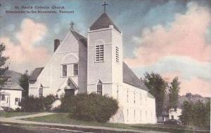 Vermont Manchester St Paul Catholic Church Albertype