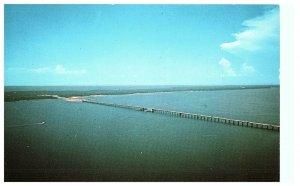 The Bridge To Pensacola Florida Postcard