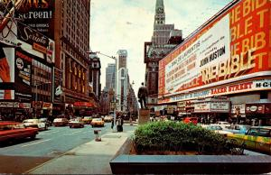 New York City Times Square 1973