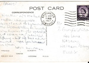 Postcard  Somerset Picturesque Somerset 1967