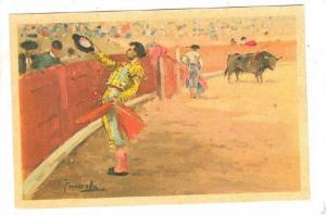 AS, Brindis, Offering The Bull's Death, Mexico, 1900-1910s