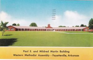 FAYETTEVILLE, Arkansas, 40-60´s; Paul E., Mildred Martin Building, Assembly