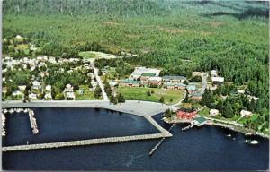 Aerial - Sheldon Jackson College Sitka, Alaska
