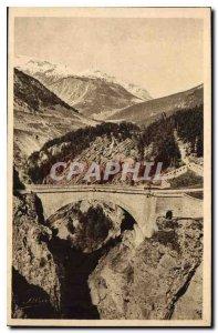 Postcard The Old Brianconnais Artistic Briancon Bridge of Asfeld