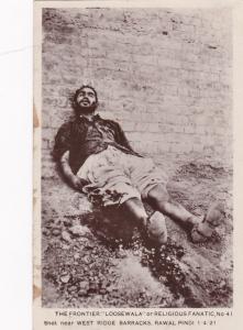 RP:  India, 1900-10s ; LOOSEWALA shot, West Ridge Barracks , Rawal Pindi