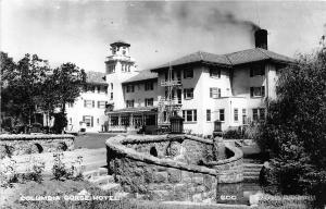 F26/ Hood River Oregon RPPC Postcard c1940s Columbia Gorge Hotel