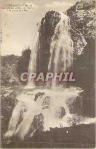 Old Postcard Bourg sirod (swore) cascading ponytail at the door of the Ain