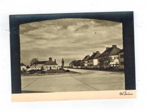 Mint 1930s Dachau Concentration Camp RPPC Postcard Street Building View FF Bauer