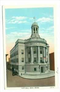 City Hall , Bath ,  Maine, 1910s
