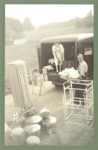 Nostalgia Postcard WW2 Blood Transfusion Service Reproduction Card NS40