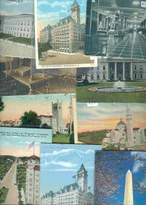 cpc156 postcard collection FIFTY Washington DC