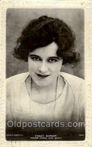Violet Hopson, Cinama Star Opera 1929 light corner wear, postal used 1929