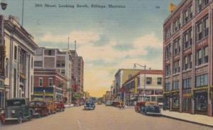 Montana Billings 28th Street Looking South 1946