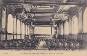 Musee Oceanographique de MONACO, Salle de Conferences, 00-10s