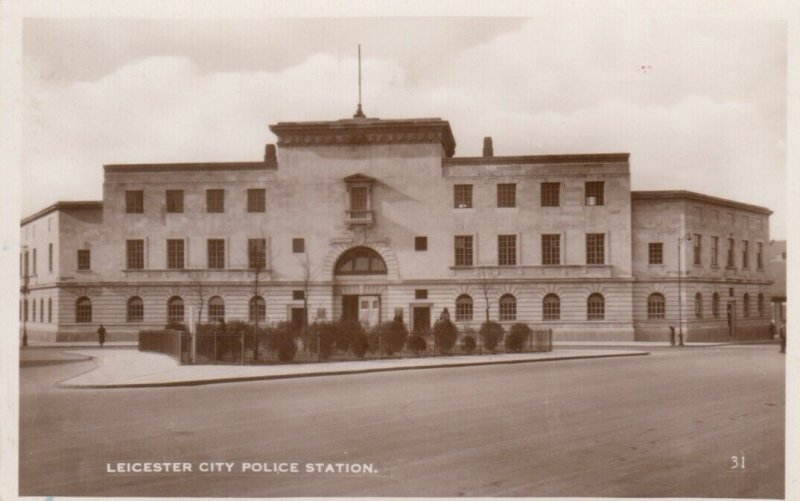 RP: LEICESTER , England , 1936 ; City Police Station