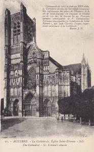 The Cathedral, St. Etienne's Church, Auxerre (Yonne), France, 1900-1910s
