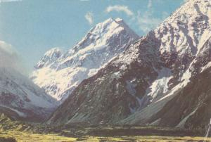 Mount Cook from Kea Track, New Zealand Southern Alps, 50-70s