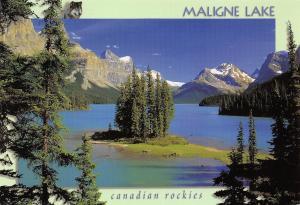 Canada Maligne Lake Jasper National Park, Alberta
