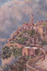 TUCK #7450, Town of Positano, Salerno, Campania, Italy, 00-10s