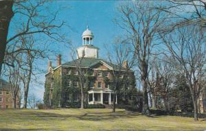 ANNAPOLIS, Maryland; McDowell Hall, St. John's College, Great Hall, 40-60s