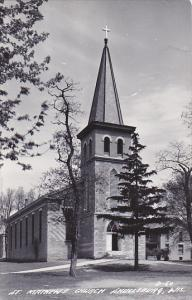 Wisconsin Shullsburg St Mathews Church Real Photo