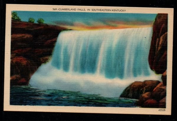 Cumberland Falls in Southeastern Kentucky, Unused