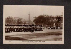UK Royal Horse Guards Parade British London Trooping Colours England RPPC Photo