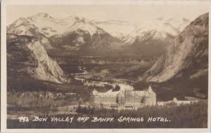 RP; Bon Valley and Banff Springs Hotel, Alberta, Canada, 10-20s