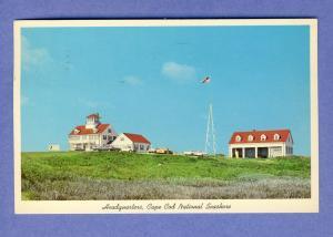 Eastham, Mass/MA Postcard, Coast Guard Station, Cape Cod