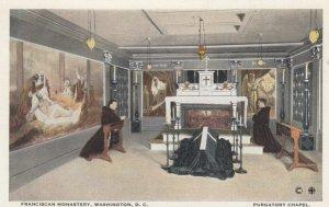 WASHINGTON DC, 1910-20s; Franciscan Monastery, Purgatory Chapel