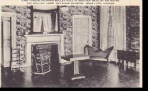 Indiana Vicennes The William Henery Harrison Mansion  East Parlor Artvue