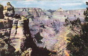 Arizona View From Duck On The Rock Grand Canyon National Park Fred Harvey