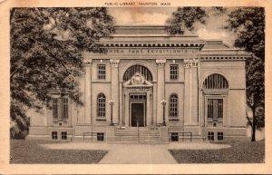 Massachusetts Taunton Public Library