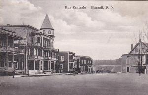 DISRAELI, Quebec, Canada, 1900-10s ; Rue Centrale, Showing A Cafe & Restaurant