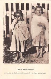 Madagascar, Types de jeunes malgaches, Mission de Religieuses de la Providence