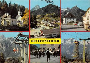 Hinterstoder, Hutterer Hoess und Baerenalm Seilbahn