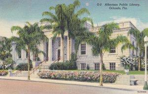 ORLANDO , Florida , 1930-40s ; Albertson Library