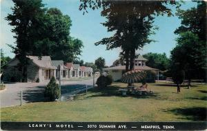 Memphis Tennessee~Relax in the Shade~Leahy's Motel on Summer Avenue 1950s
