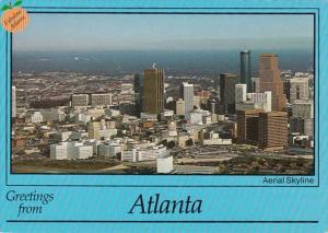Georgia Atlanta  Aerial View Of Skyline