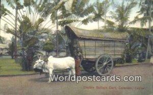 Double Bullock Cart Colombo Ceylon, Sri Lanka Unused