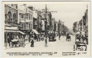Hampshire; Old Southampton, Above Bar, c 1905 RP PPC By Pamlin, C1557