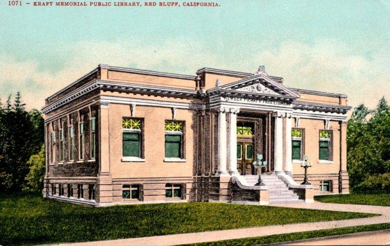California Red Bluff Kraft Memorial Public Library
